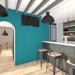 rénovation restaurant Guyancourt