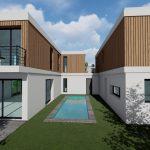 maison piscine projet 3d